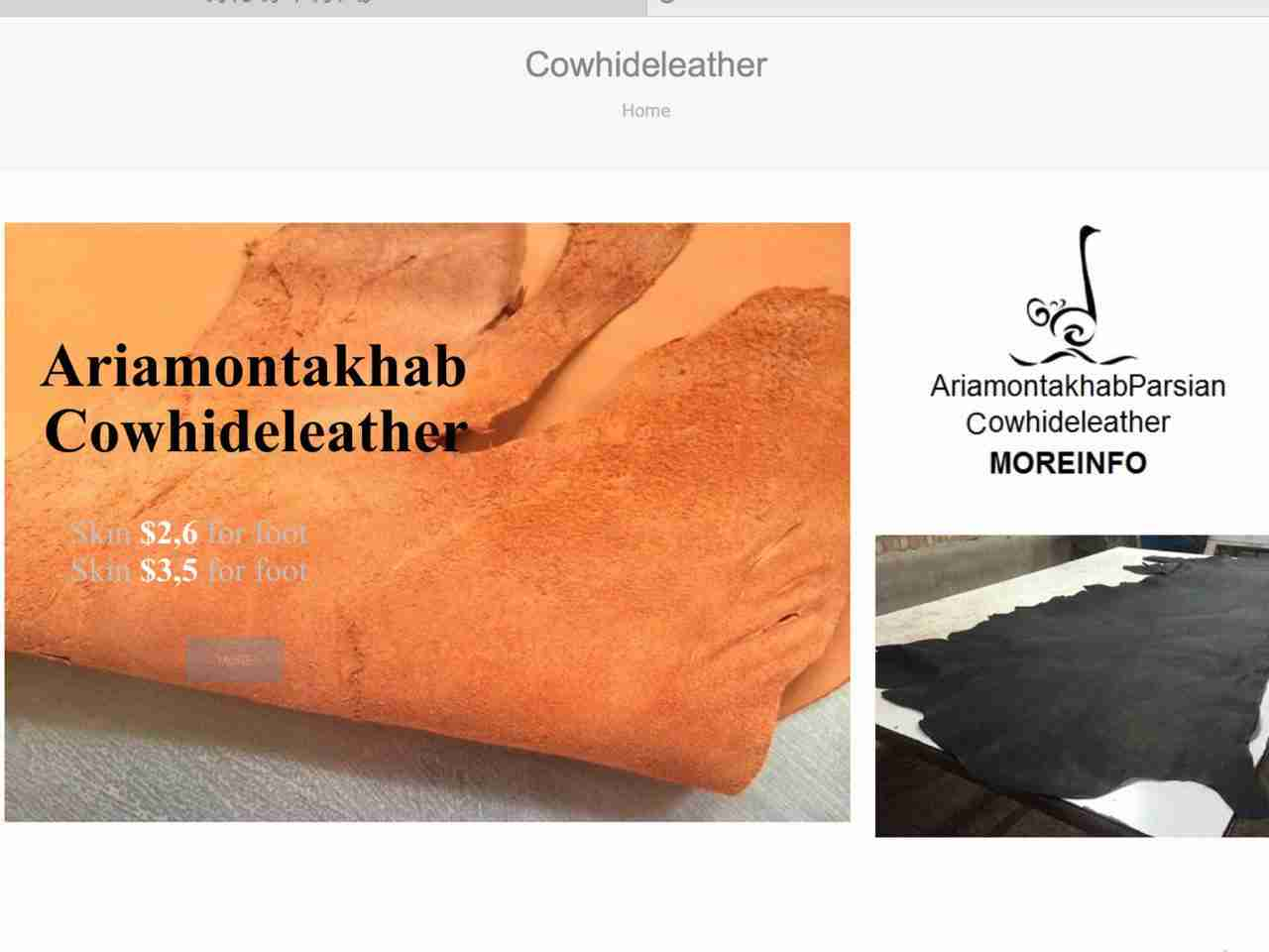 Cowhide Leather Skin ariamontakhab 2015 09 25 10 44 23 001 درباره ما